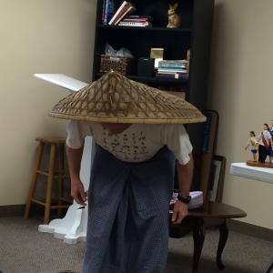 Rice paddy rain gear