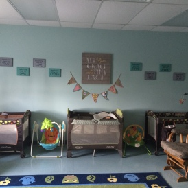 Our crib area